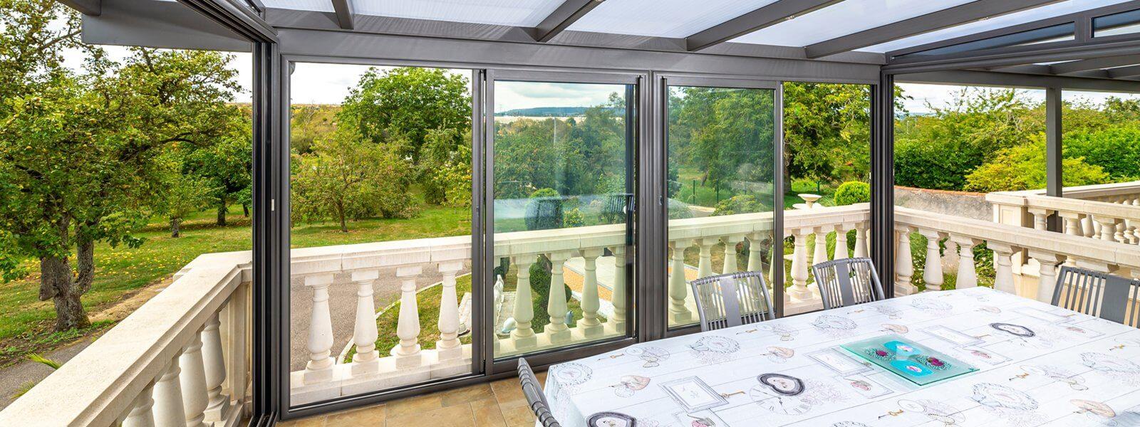 maison modernisée grâce à l'aluminium